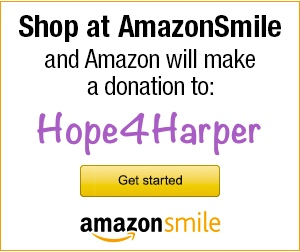 Hope4Harper Amazon Smile Banner