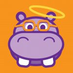 H4H Run4Hope Hippo ORANGE