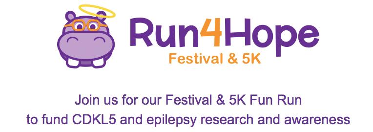 REGISTER NOW! 2017 Run4Hope Festival & 5K
